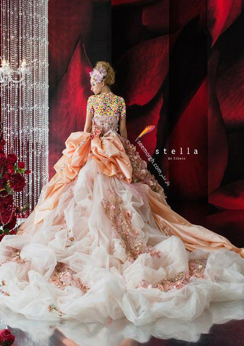 انواع لباس عروس خاص و جذاب 2017