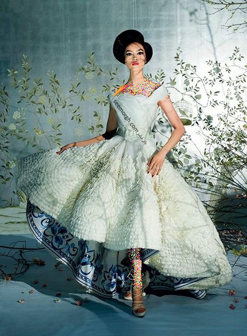 لباس عروس متفاوت، انواع لباس عروس خاص و شیک، ژورنال لباس عروس جذاب 2017، مدل لباس عروس