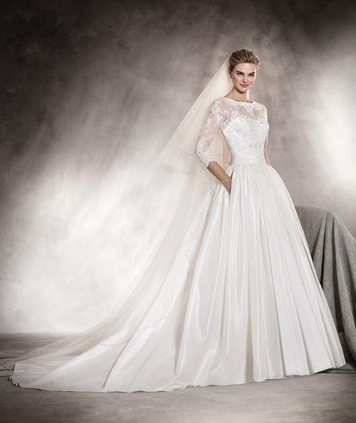 انواع مدل لباس عروس شیک 2017