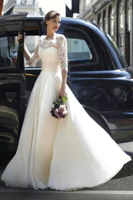ژورنال لباس عروس شیک و جدید 96-2017