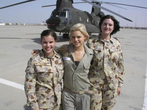 دختران و زنان زیبای ارتشی استرالیا