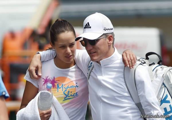 عکس آنا ایوانکوویچ و همسرش شواین اشتایگر