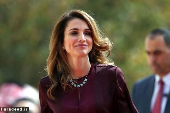 ملکه رانیا، همسر پادشاه اردن