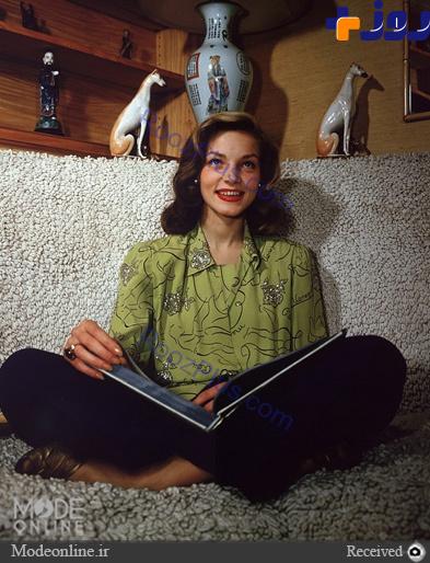خوش پوش ترین زنان قرن:لورن باکال