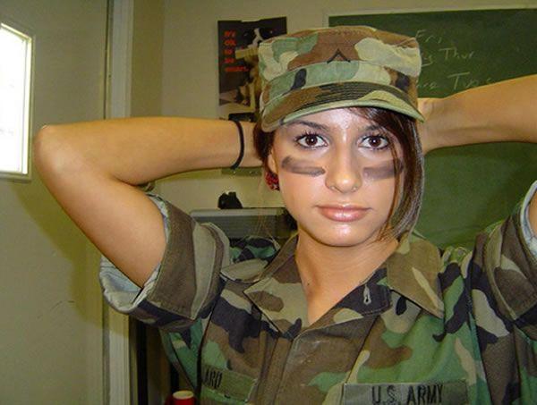 دختران و زنان زیبای ارتشی ایالات متحده