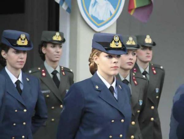 دختران و زنان زیبای ارتشی یونان