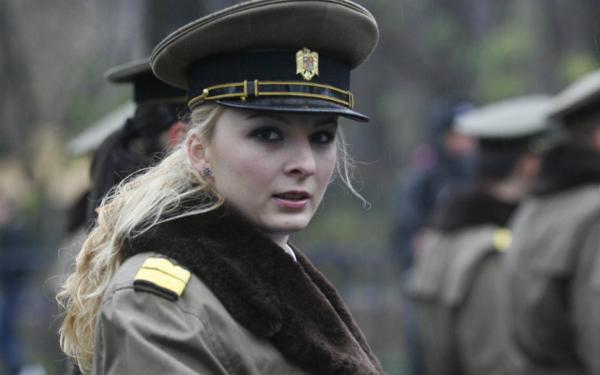 دختران و زنان زیبای ارتشی رومانیا