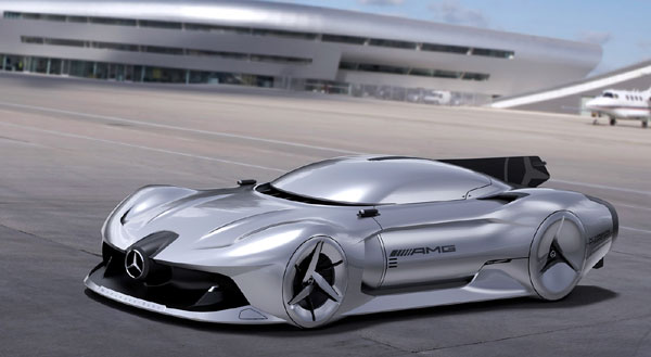 مرسدس بنز 2040 ؛ خودرویی شیک با طراحی استادانه