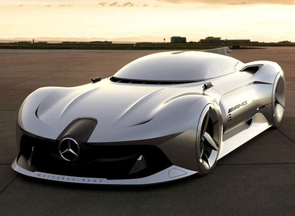 عکس های مرسدس بنز 2040 ؛ خودرویی شیک با طراحی استادانه
