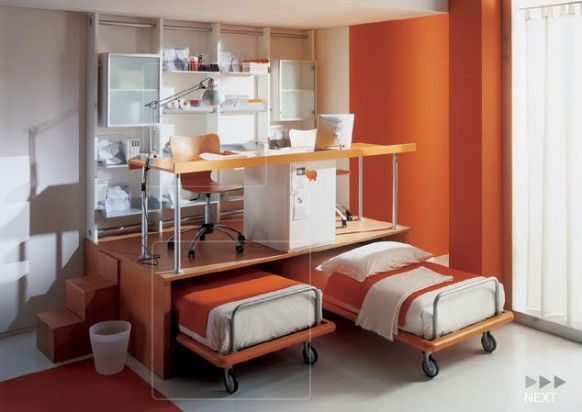 دکوراسیون لوکس و مدرن اتاق خواب برای کودک و نوجوان