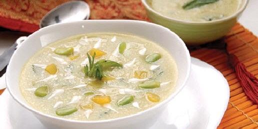 طرز تهیه آسان سوپ سفید در منزل