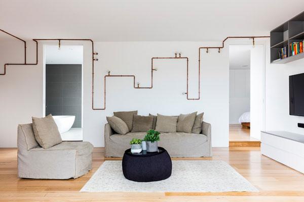 ژوزفین هرلی انبار قدیمی در سیدنی را به آپارتمانی لوکس تبدیل کرده است