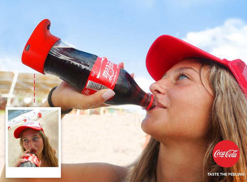 بطری هوشمند کوکا کولا که هنگام نوشیدن از شما سلفی می گیرد