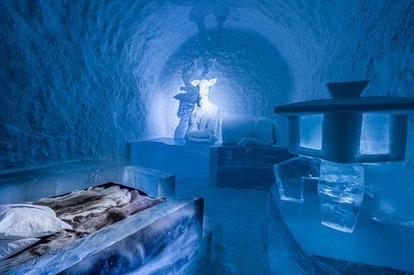 افتتاح اولین هتل یخی جهان در قطب شمال