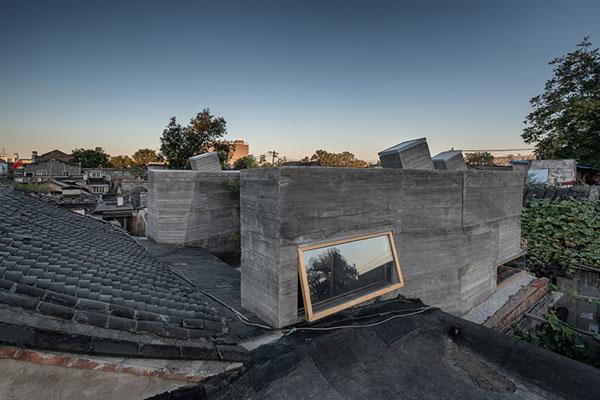 معماران ژائو خوابگاه 30 متر مربعی در یکی از کوچه های در پکن ساختند