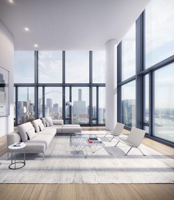 ریچارد مایر و همکاران بلندترین برج مسکونی را در نیویورک می سازند