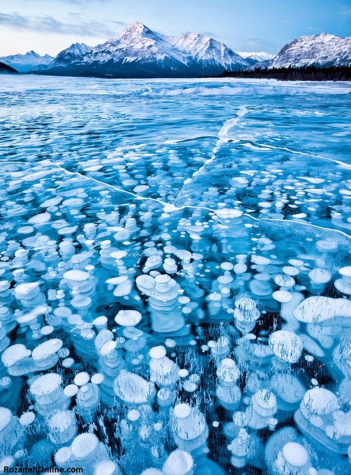 دریاچه ابراهیم (Abraham) کانادا