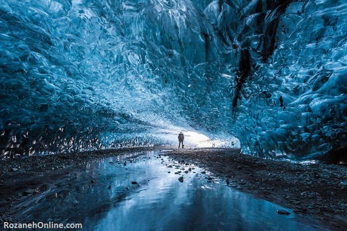 غار یخ، ایسلند