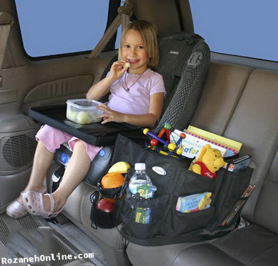 ترفند های خوش گذشتن به کودک در مسافرت