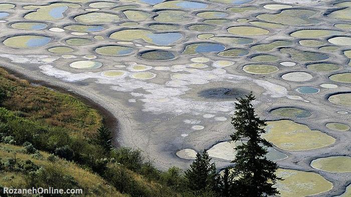 دریاچه خال خال کانادا