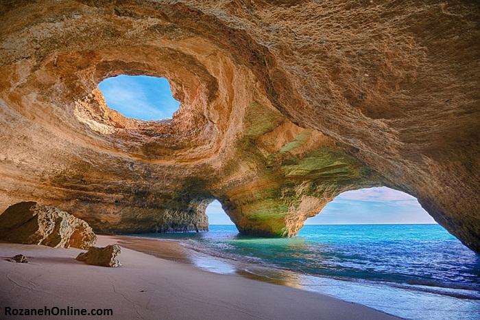 غارهای دریایی آلگاروه، پرتغال