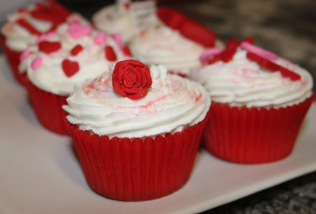 کاپ کیک مخصوص ویژه ی ولنتاین