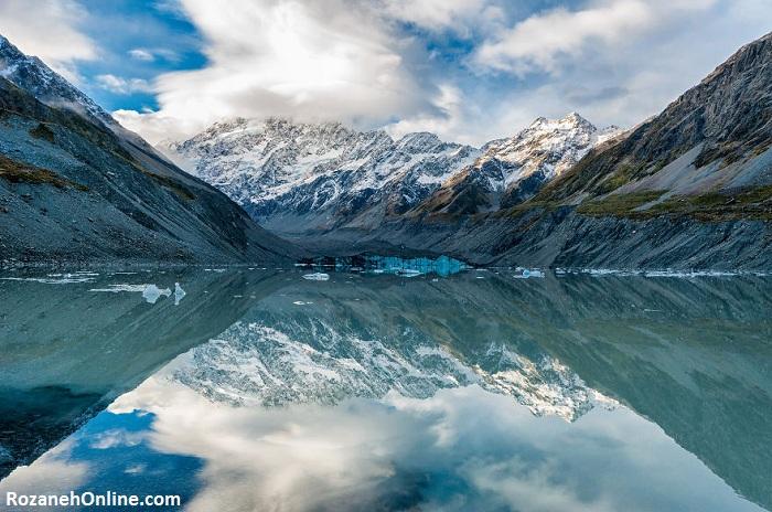 چشم اندازهای خیره کننده و بسیار زیبا از نیوزلند