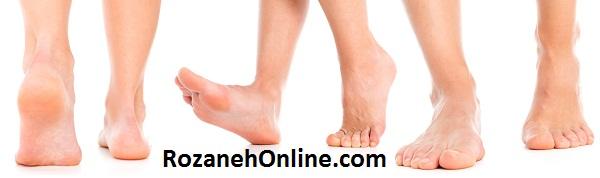 شناسایی علائم بیماری ها  از پا - هر نشانه ای را جدی بگیرید