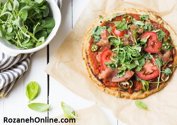 طرز تهیه پیتزا پارینه سنگی بدون ضرر و زیان برای بدن