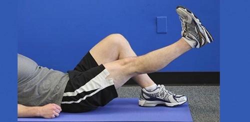 تسکین درد زانو با تمرینات خانگی