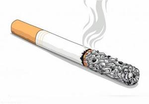 تاثیر مصرف دخانیات در چاقی شکم