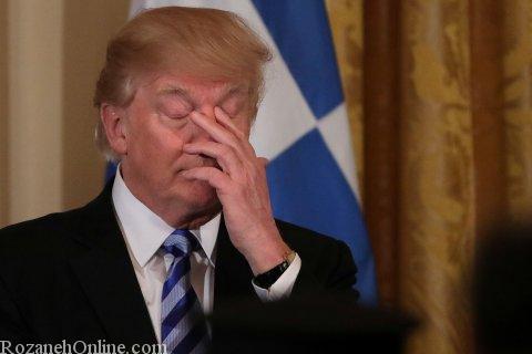 عکس های عجیب و خنده دار دونالد ترامپ رئیس جمهور آمریکا