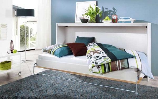 عکس از جدیدترین مدل تخت خواب