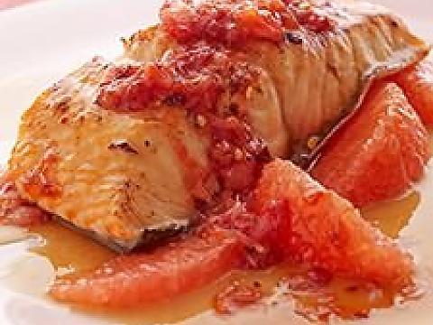 طرز پخت ماهی تیلاپیا با سس گریپفروت