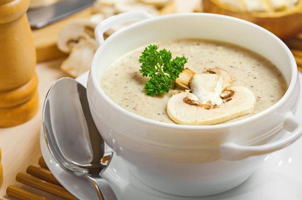 طرز تهیه سوپ قارچ و برنج
