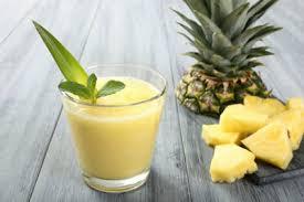 طرز تهیه اسموتی آناناس بهمراه سبزیجات