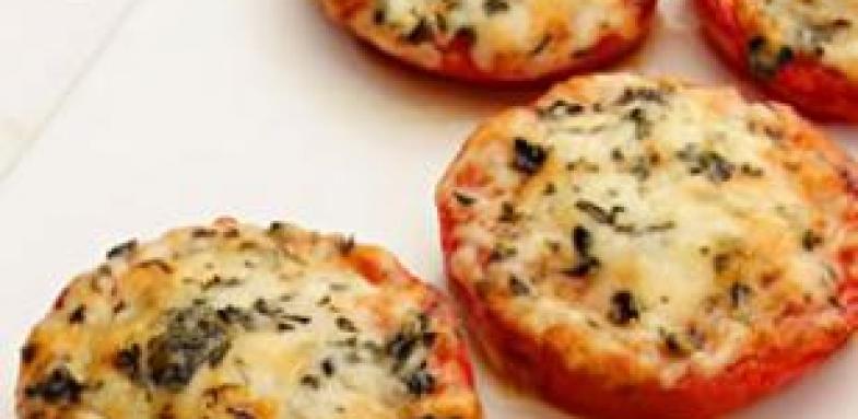 آموزش پخت گوجه و پارمسان تنوری