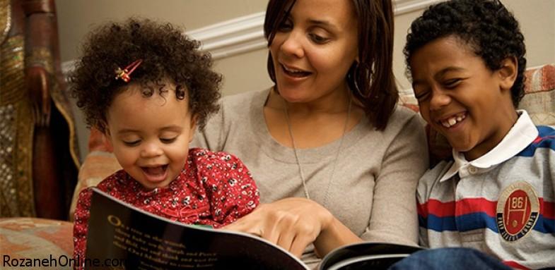 روزانه برای کودک کتاب بخوانید
