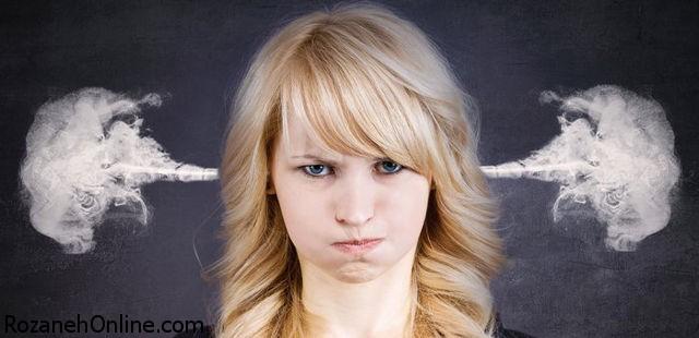 سلامت افراد عصبانی در معرض خطر است