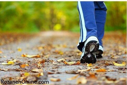 سالم بودن به شرط قدم زدن روزانه