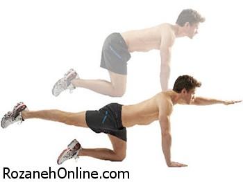 تمرین ورزشی روزانه ویژه شاداب و سرحال شدن