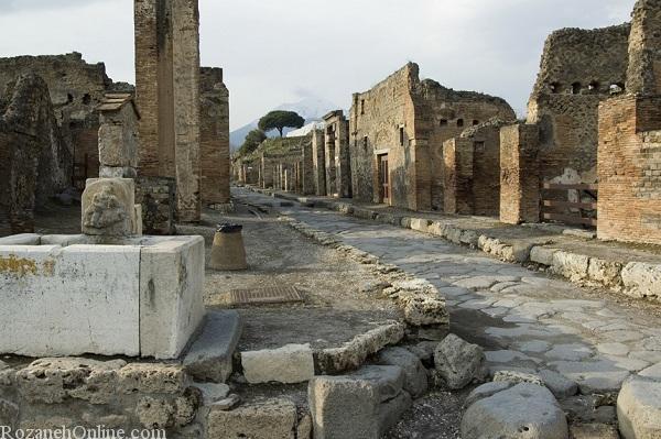 عکس های شهر پمپی ایتالیا - مردم سنگ شده