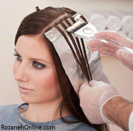رنگ کردن مو در دوران بارداری در ماه چندم آن مجاز است؟