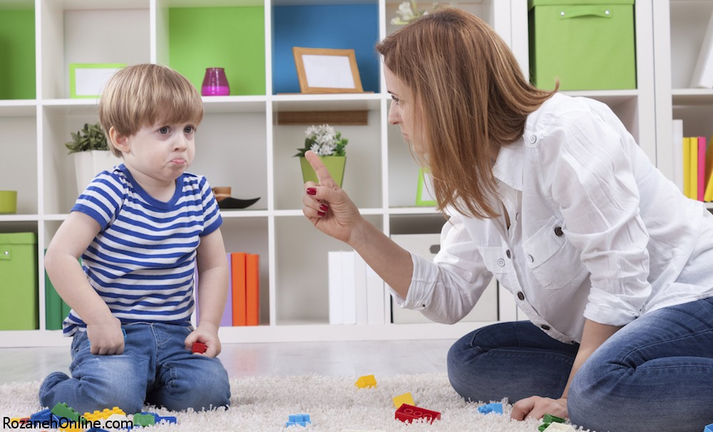 نافرمانی کودک و روش مقابله با آن