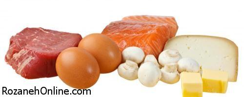 غذاهای دارای ویتامین D کدامها میباشند؟