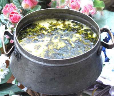 طرز تهیه آبگوشت کشک یک غذای لرستانی مشهور