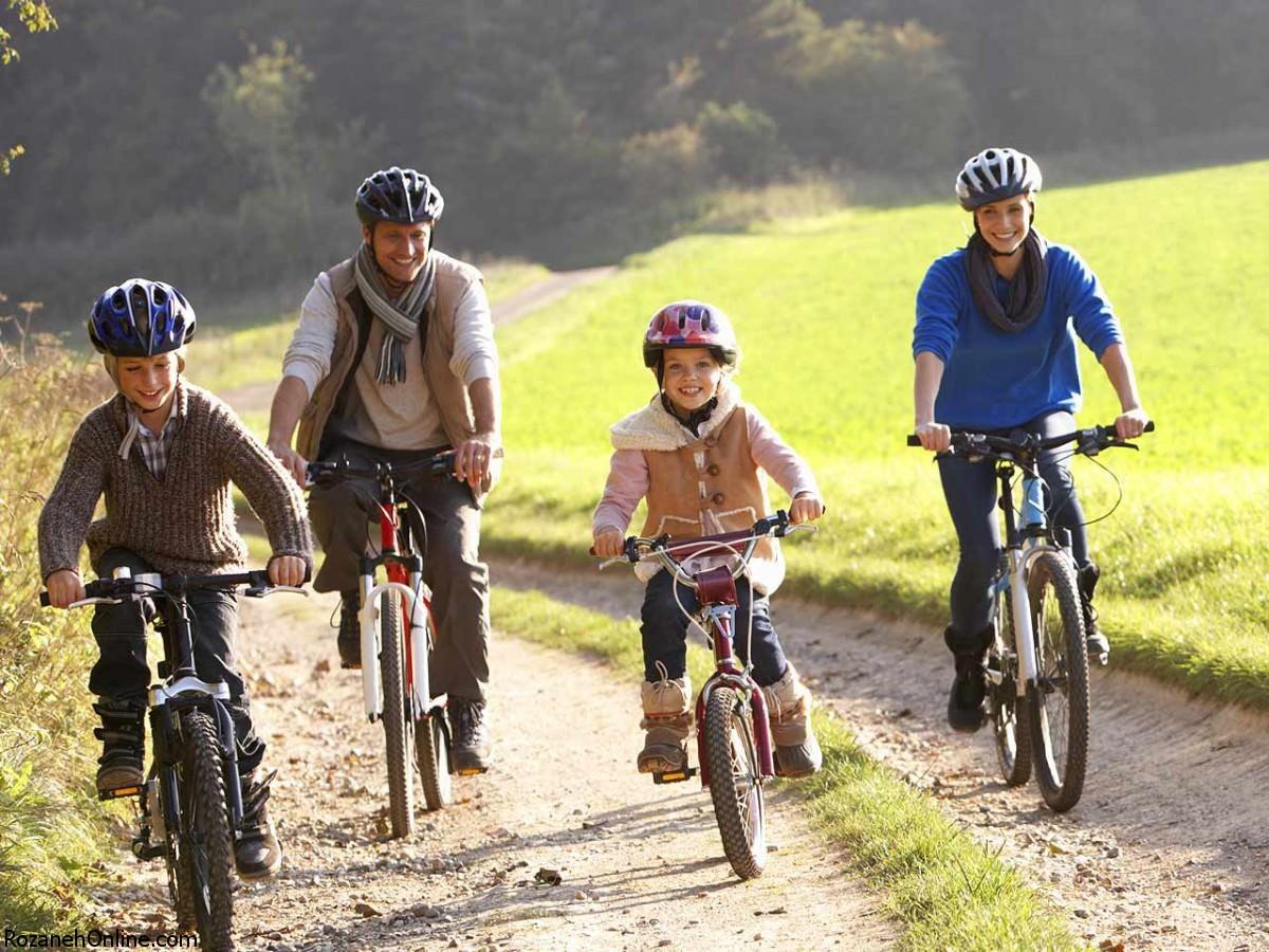 از دوچرخه برای سلامت قلبتان کمک بگیرید