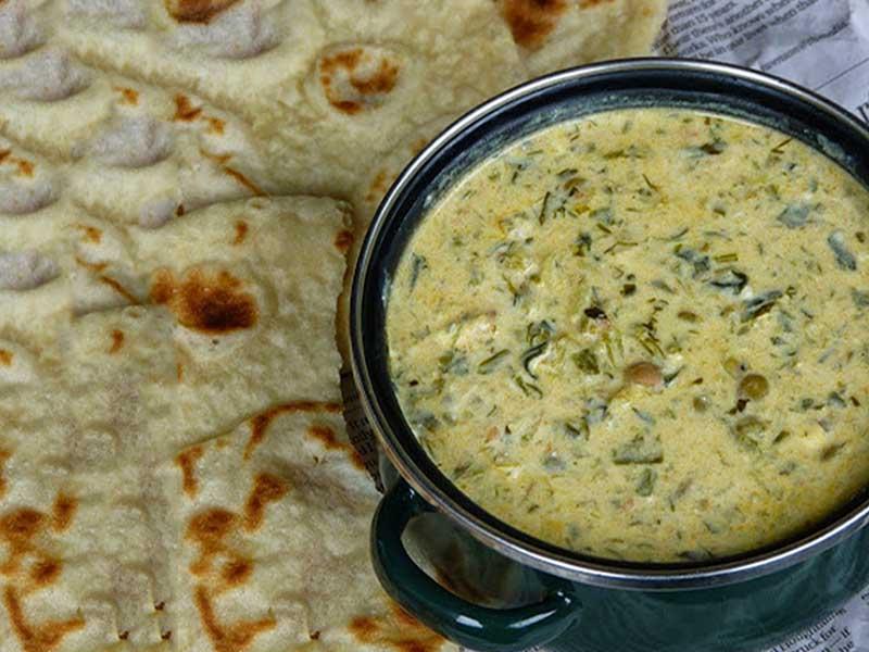 دستور پخت آش ماست اصیل شیرازی با روش زیر