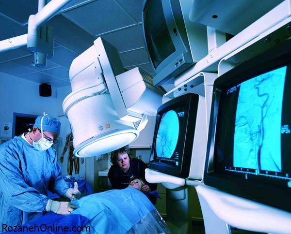 آنژیوگرافی - آزمایش تشخیص گرفتگی عروق قلب و مغز