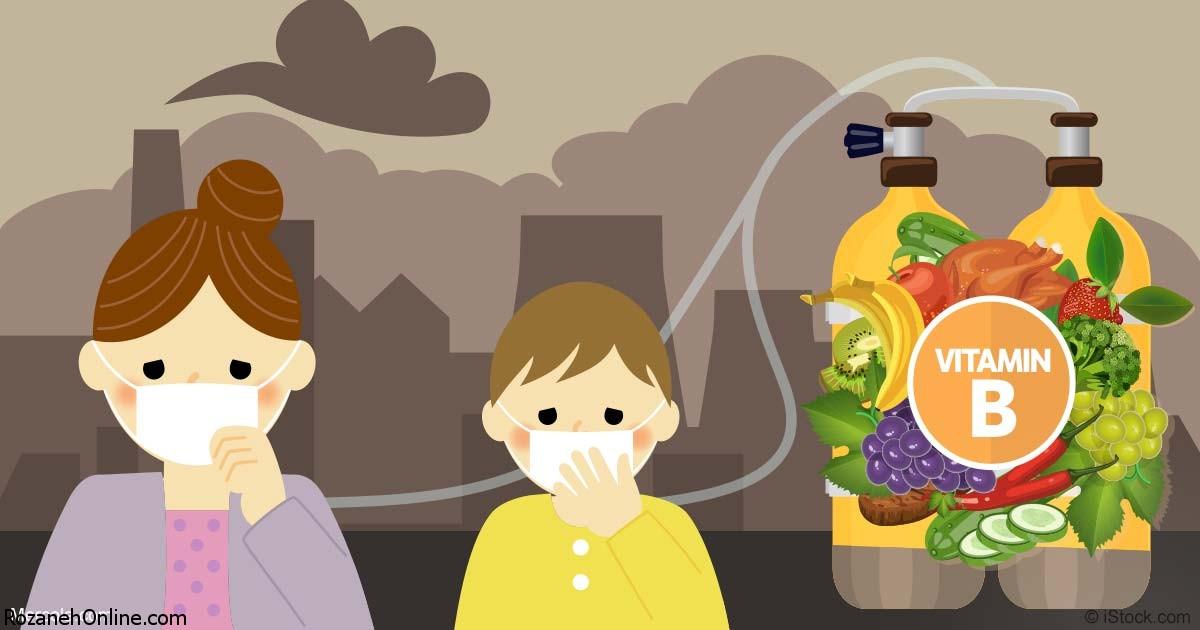 الگوی غذایی مناسب هنگام آلوده شدن هوا